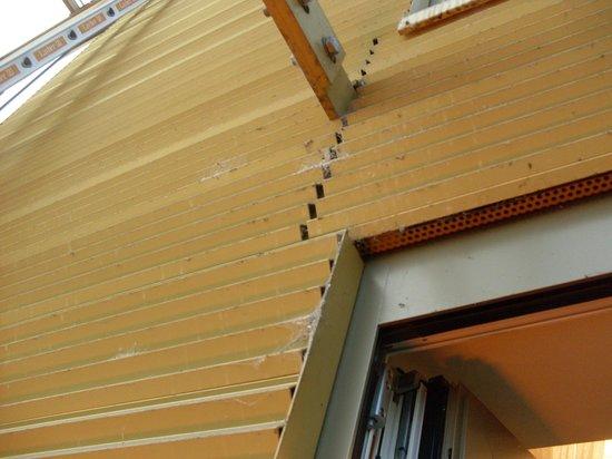 Austria Trend Hotel Savoyen Wien: überall Spinnweben im Aussenbereich