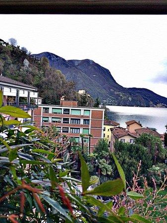 Grand Hotel Villa Castagnola: Balcony View