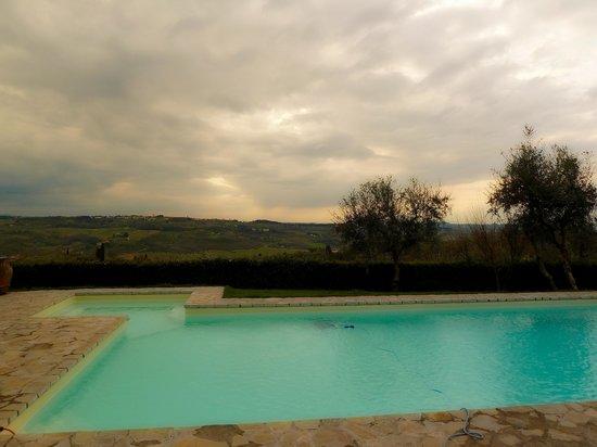 Villa I Barronci: Pool Area