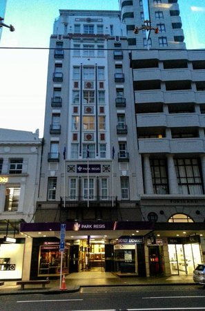 Grand Windsor Hotel Auckland : View from the front of the hotel