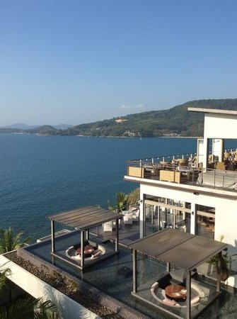 Cape Sienna Hotel & Villas: lovely view from the third floor