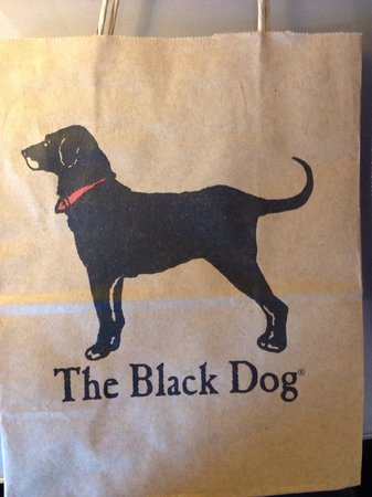 Bowen's Wharf: The shopping bag from the store