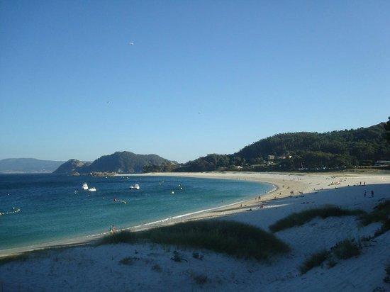 Barco Islas Cíes - Cruceros Rias Baixas: отличный пляж