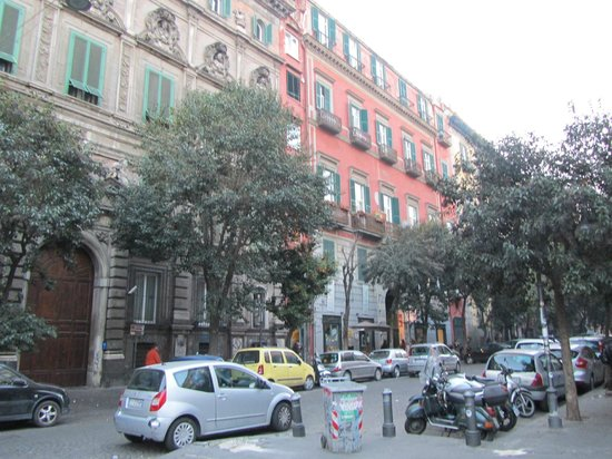 Hotel Piazza Bellini : Facade