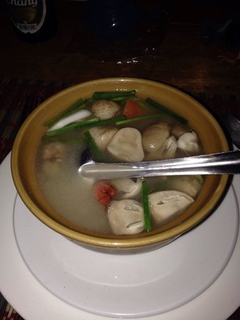 Timber Hut : Soup... Just enough spicy.... Not fire.!