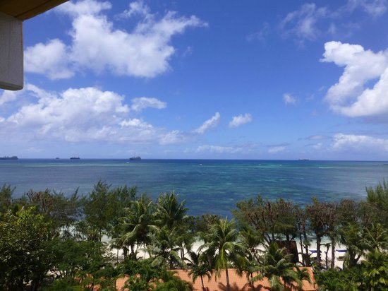 Grandvrio Resort Saipan : 部屋のバルコニーからの眺め