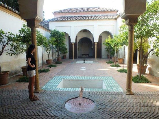 Внутренний дворик Alcazaba