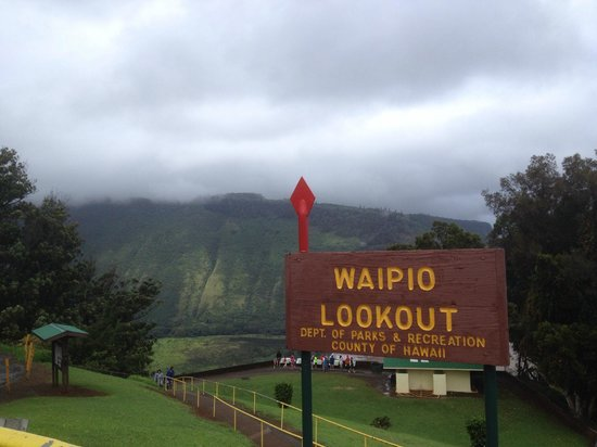 Waipio Valley Lookout: lookout point