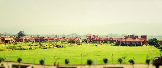 Vijayshree Resort & Heritage Village: Panoramic view of the resort