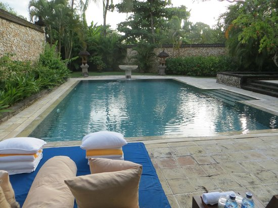 The Oberoi Bali : Our private pool