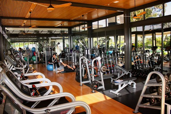 Vineyard Hotel: Fitness Centre