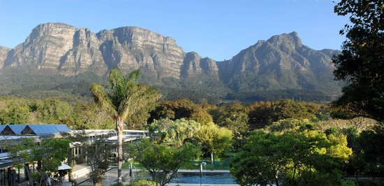 Vineyard Hotel: Mountain Views