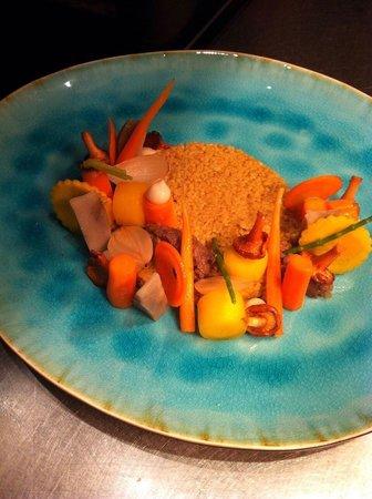 Aan tafel bij Luc Bellings: Vegetarisch warm