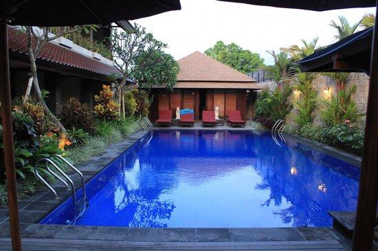 Ari Putri Hotel : Deluxe room pool area