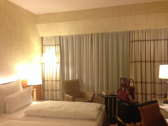 Hotel Nikko Dusseldorf: 普通のシングルルームですが、広くてきれいです。