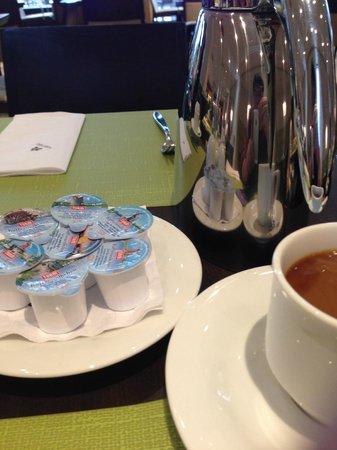 Hotel Nikko Dusseldorf: 朝食です。coffeeが美味しい!