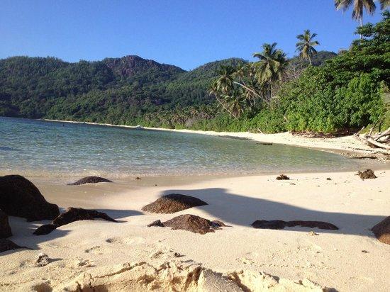 Chalets d'Anse Forbans: Anse Forbans beach.