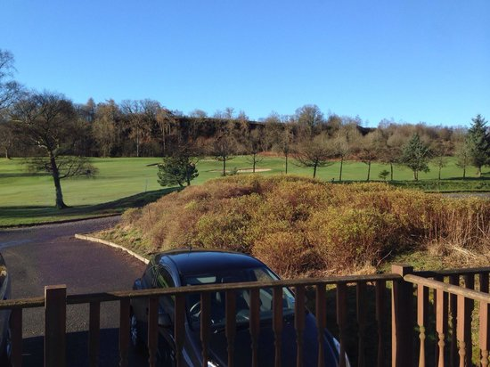 Gleddoch House Hotel, Spa & Golf Club : Nice view from verandah