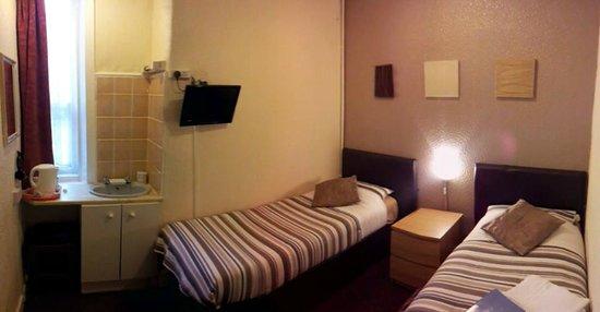 Grange House Hotel: room 3 1st floor twin beds