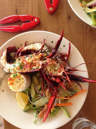 Marron Cafe : Flusskrebse mit Limette und Chilli