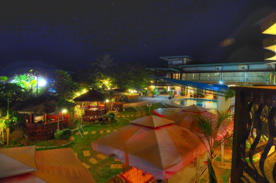 Bagasbas Lighthouse Hotel Resort Night View