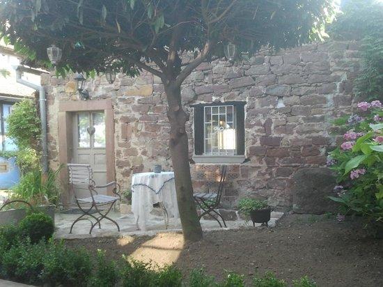 Aux Temps d'Avant : Petite terrasse