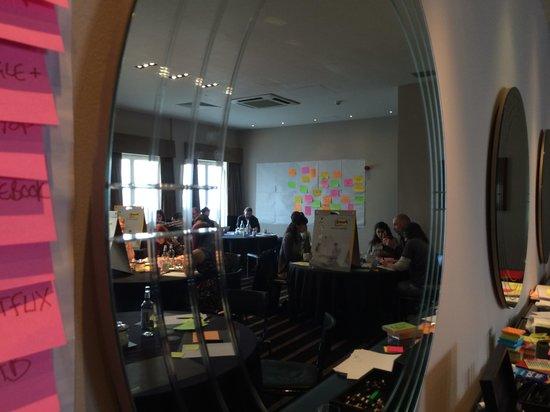 Malmaison Hotel Edinburgh: Lab in Progress