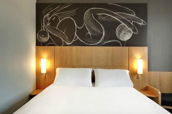Ibis Bordeaux Le Lac : chambre standard double