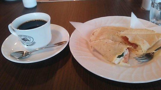 Sapporo Coffee House Kokuritsubettei: サンドイッチ