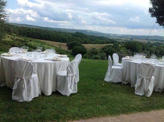 Villa Pulciana : Matrimonio in villa