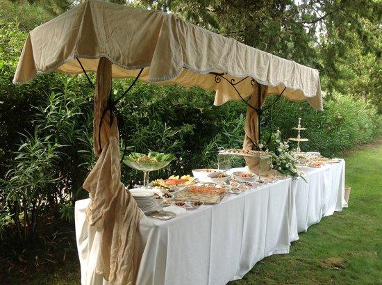 Villa Pulciana : Il catering