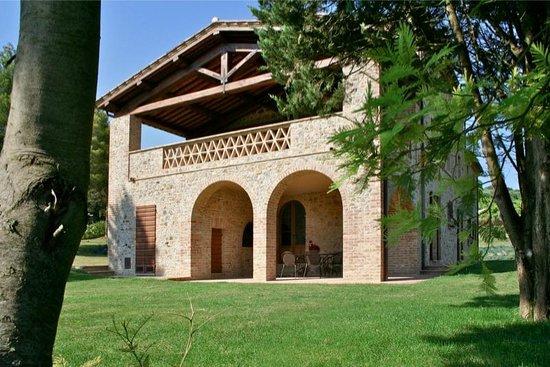 Villa Pulciana : Il Portico