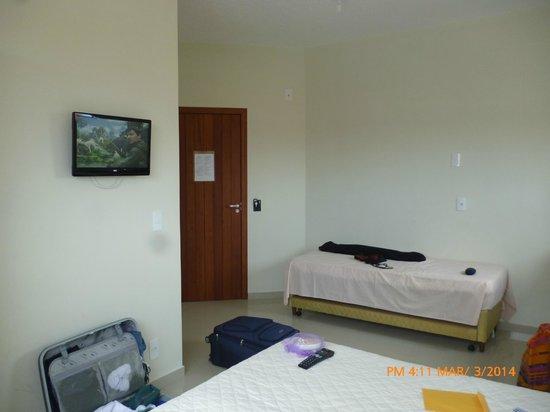 Ilha Norte Aparthotel: vista de puerta de entrada