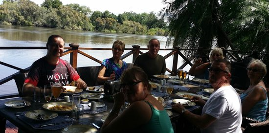 Thorntree River Lodge : Dining or just relaxing in the common areas