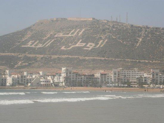 Aferni Hotel: Beach