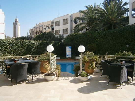Aferni Hotel: Lovely pool area