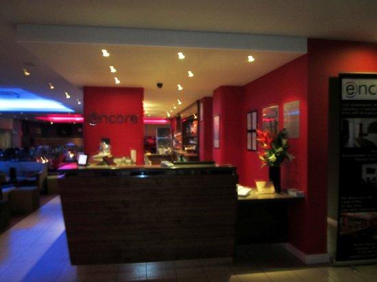Ramada Encore Leicester City Centre : Reception