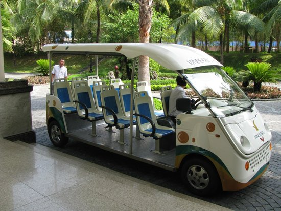Vinpearl Nha Trang Resort: Transport to get around the island