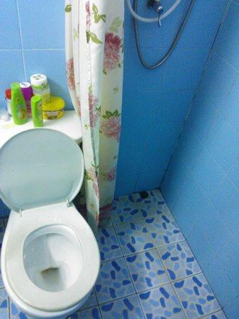 Backpacker Samui Hostel: Banheiro quarto 1
