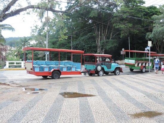 Grande Hotel do Lago: TRENZINHO PARA UM PASSEIO NA CIDADE OU NO CRISTO