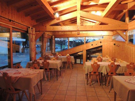 Hotel Hermine Blanche : la salle à manger
