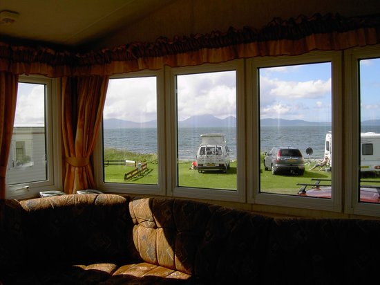 Port Ban Holiday Park: View from one of the vans