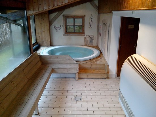Hotel Hermine Blanche : le jacuzzi