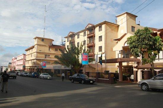 New Safari Hotel: View of the Hotel