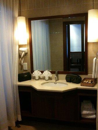 Valley Mountain Hotel : Salle de bains deluxe