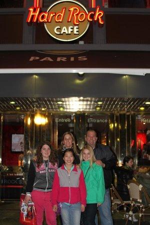 Hard Rock Cafe Paris : Hard Rock Paris