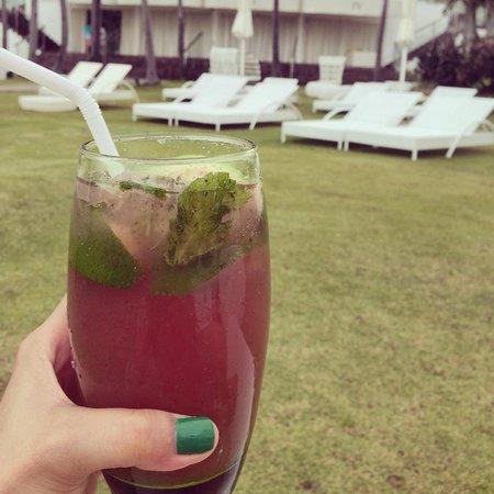 Mövenpick Hotel Mactan Island Cebu : Club mojito was so good!