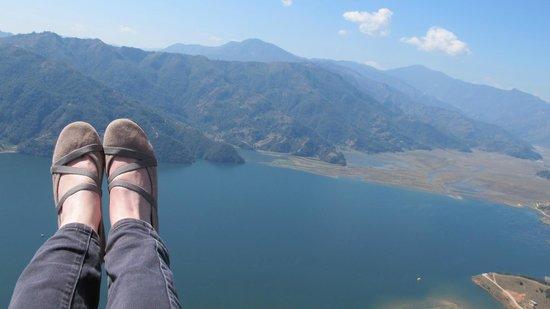 Team 5 Nepal Paragliding: Prachtige uitzichten