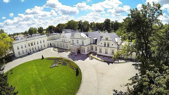 Turzno, Polen: Hotel z lotu ptaka