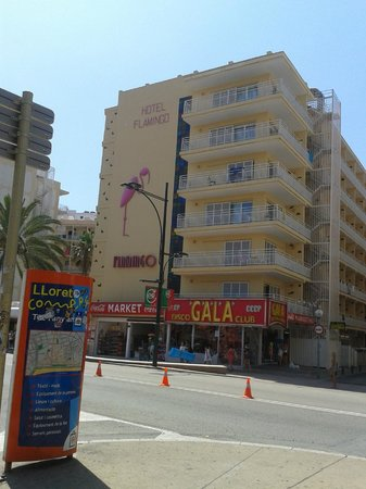 Gran Hotel Flamingo: отель Фламинго